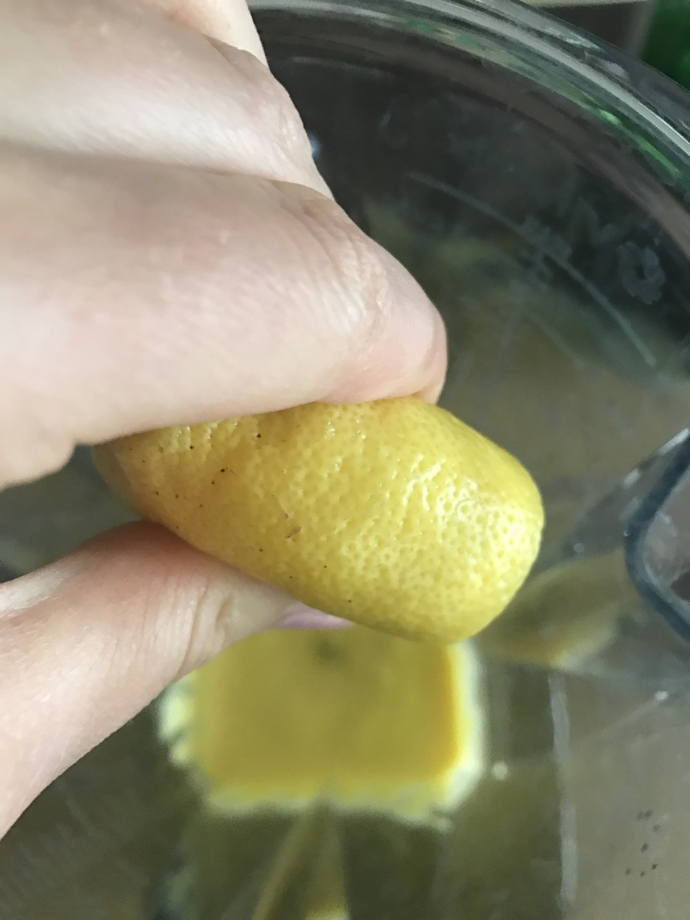 Add lemon juice, zest, and sea salt