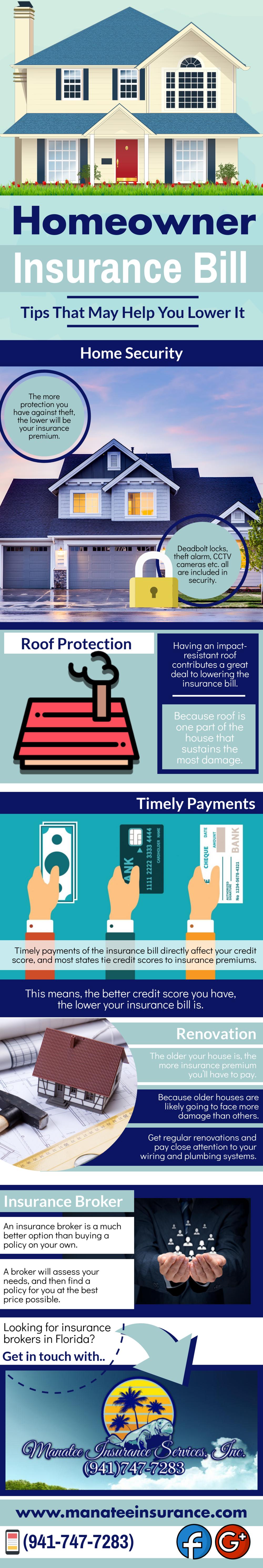 Insurance bill tips