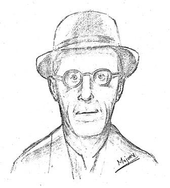 Unknown male, suspected in Marianne Schuett's disappearance.