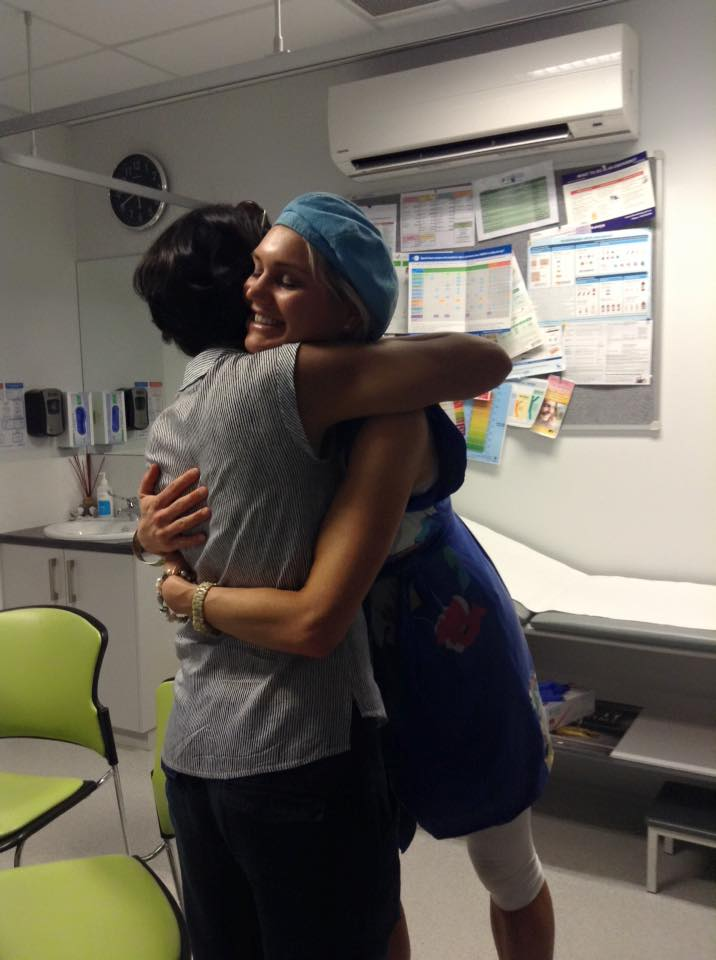HUGGING DOCTOR ALFEEN at her Daintree Medical Centre her and her lovely husband have birthed http://www.daintreemedical.com.au/