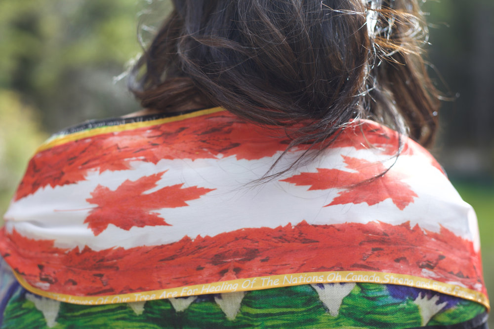 Prophesy Blessing Over Canada with this unique shawl