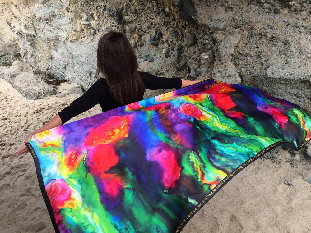 Shop Hand Painted Silk Shawls