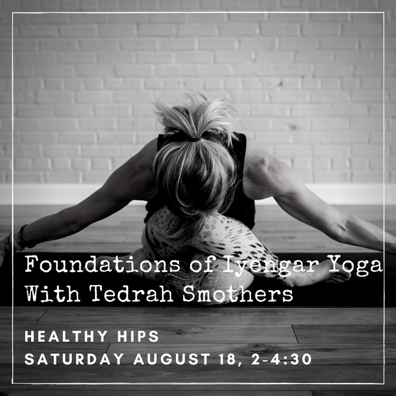 Foundations of Iyengar Yoga: Healthy Hips
