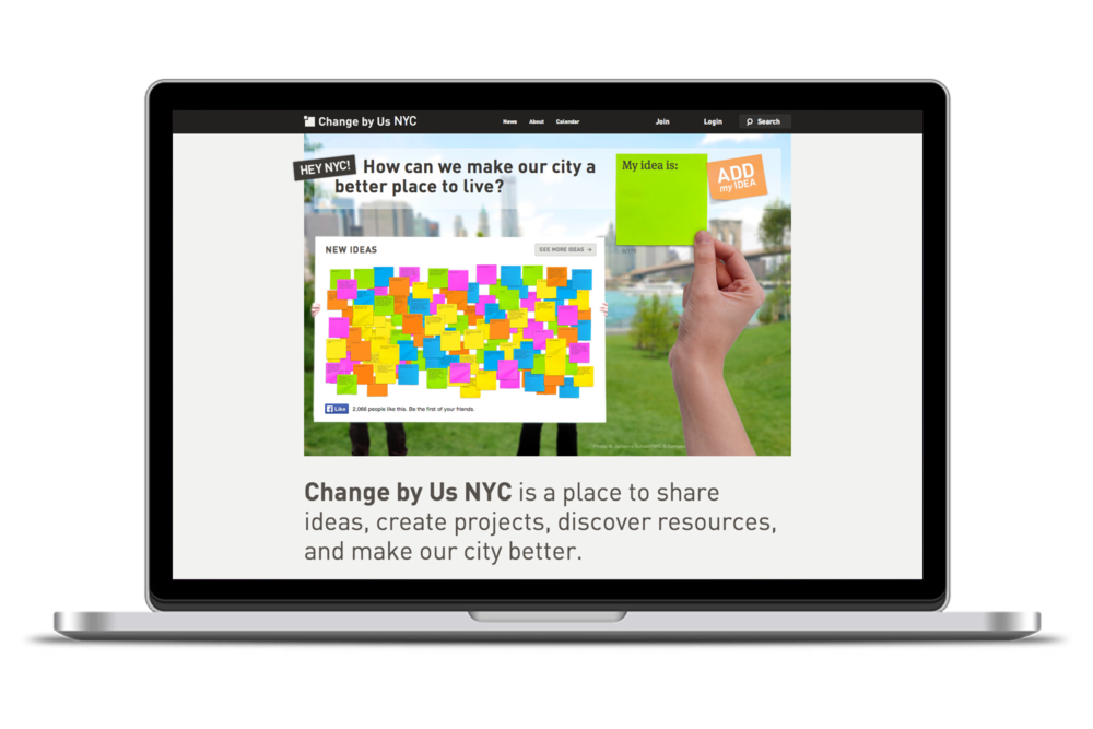 Change By Us NYC for Local Projects