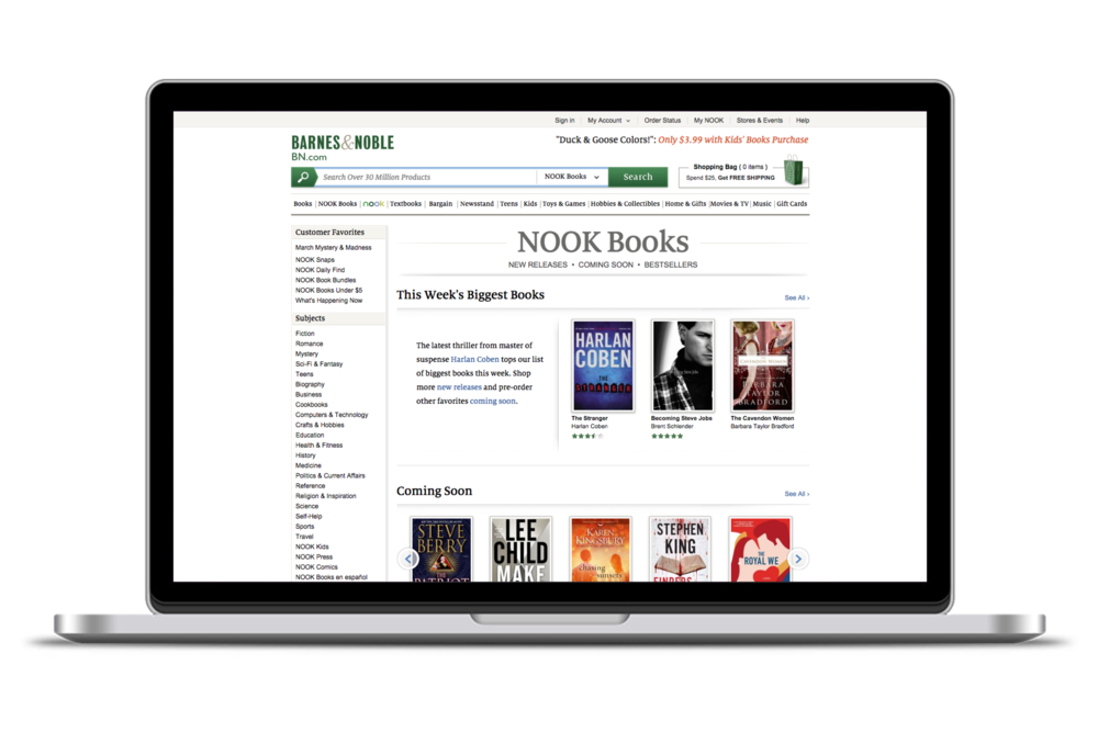 NOOK Books — eBooks Storefront