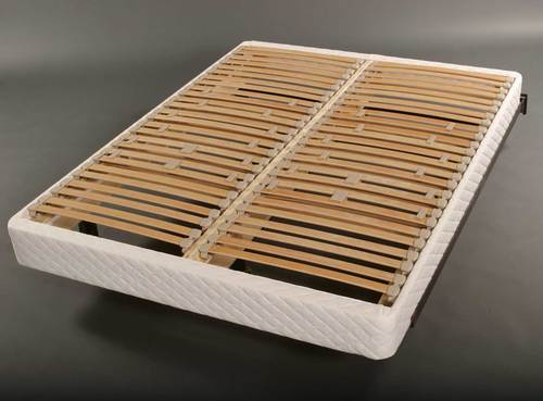 ergonomic slat foundations for targeted support and pressure relief - European Bed Frame