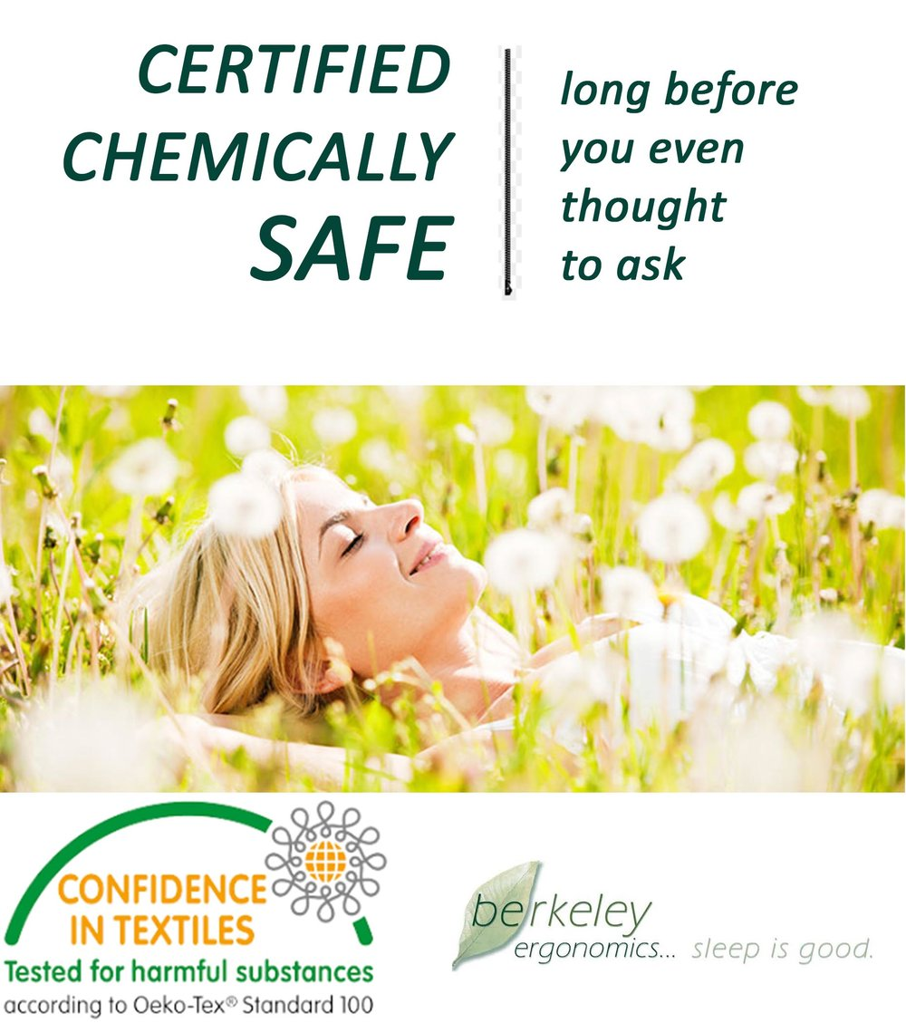 Certified chemically safe - from day one