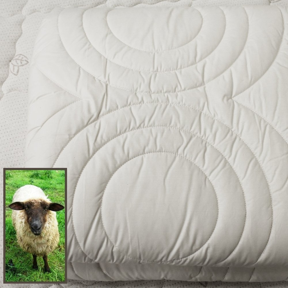 Berkeley Ergonomic Wool Duvet -