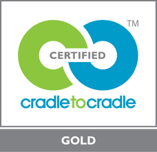 Cradle to cradle gold certified