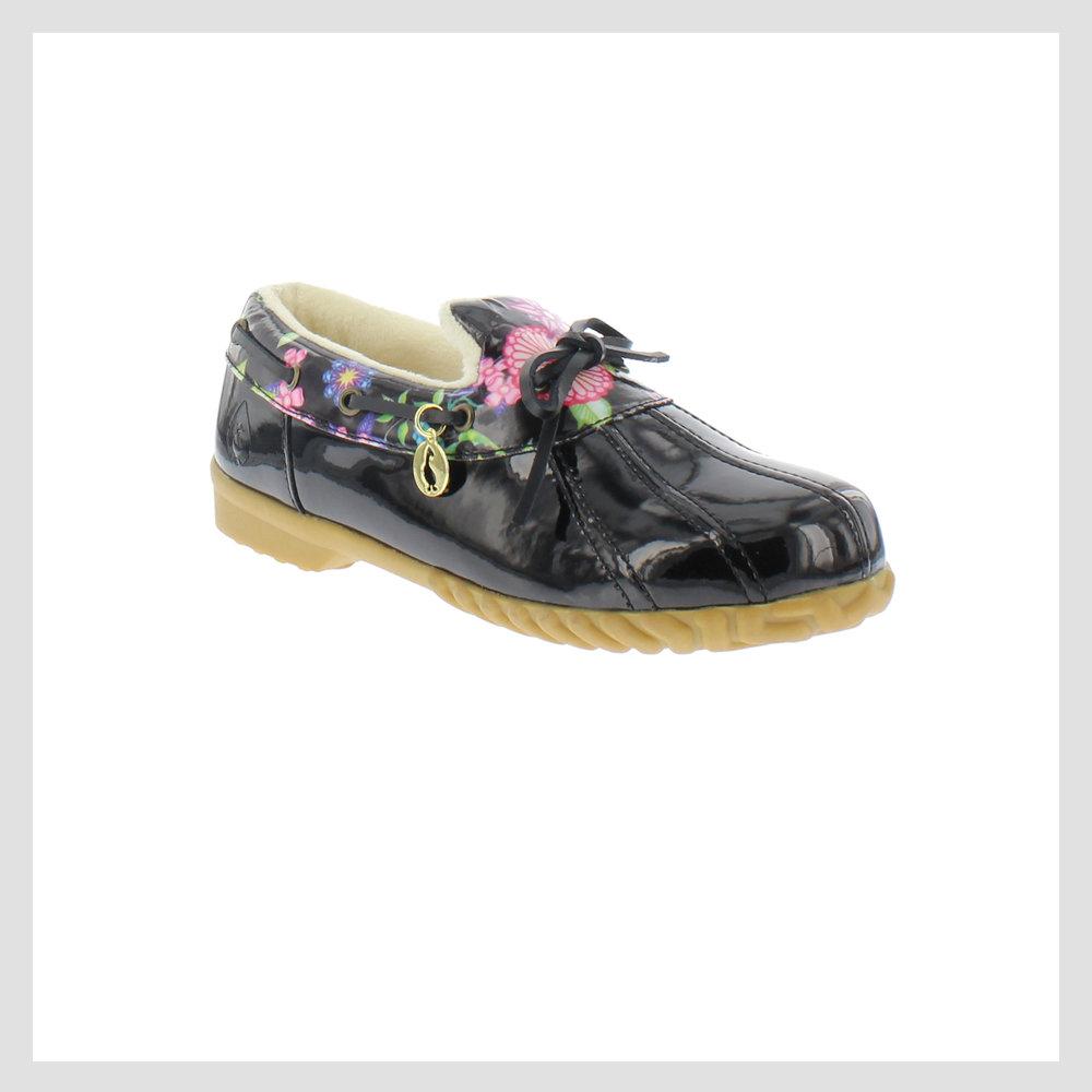 Pam, Black Floral
