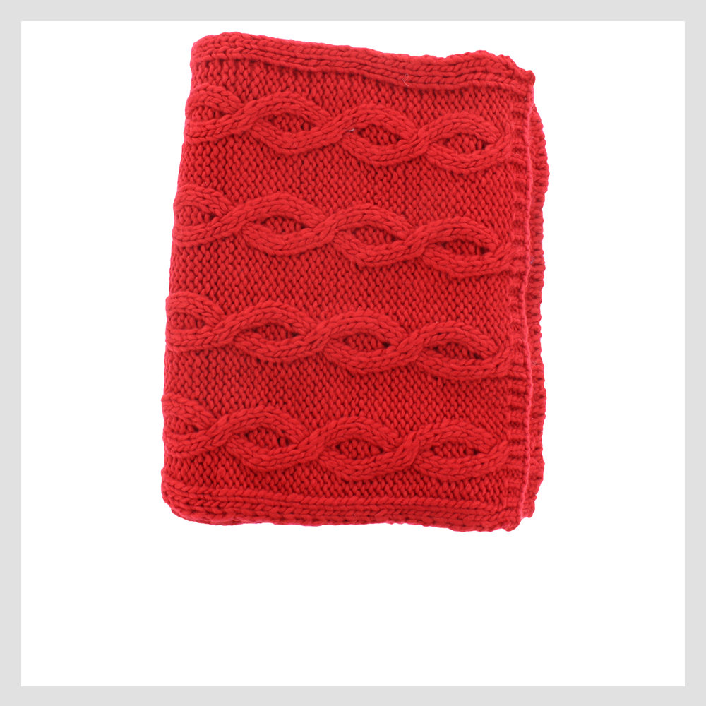 428-42273 Scarf, Red
