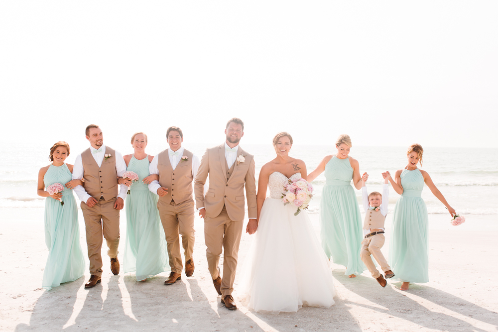 Pass-a-Grille Beach Wedding