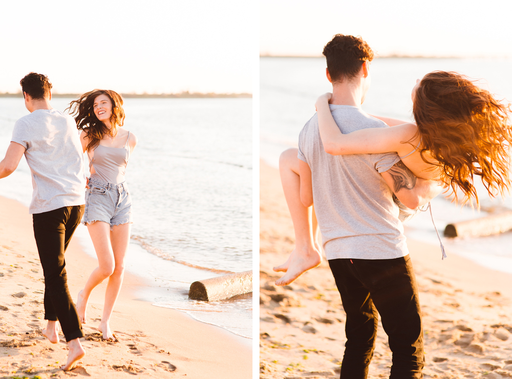 Sun Filled Golden Hour Lifestyle Couples Session - Brooke Michelle Photography