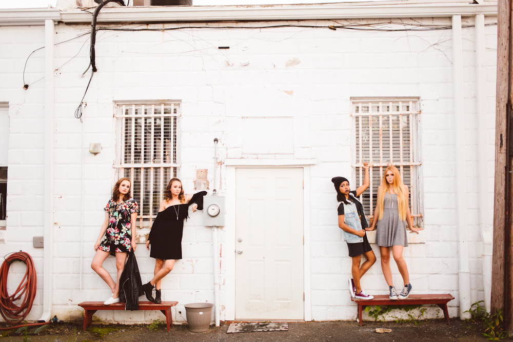 Schools Out for Summer Shoot - 2017 Senior Reps - Brooke Michelle Photography