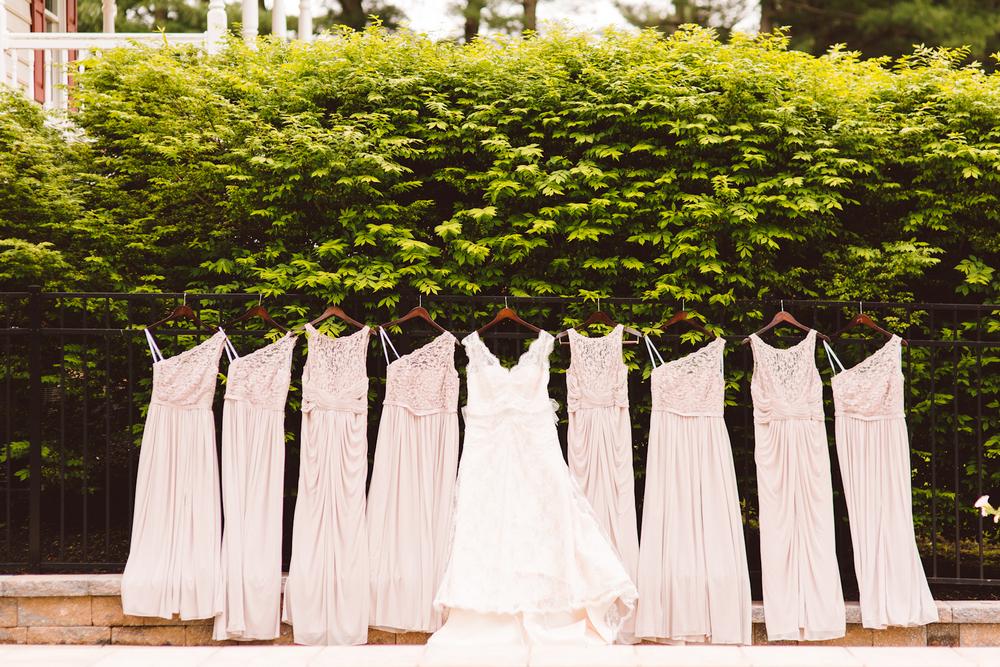 Whimsical Family Farm Wedding - Baltimore, Maryland - Bridesmaid Dresses - Brooke Michelle Photography