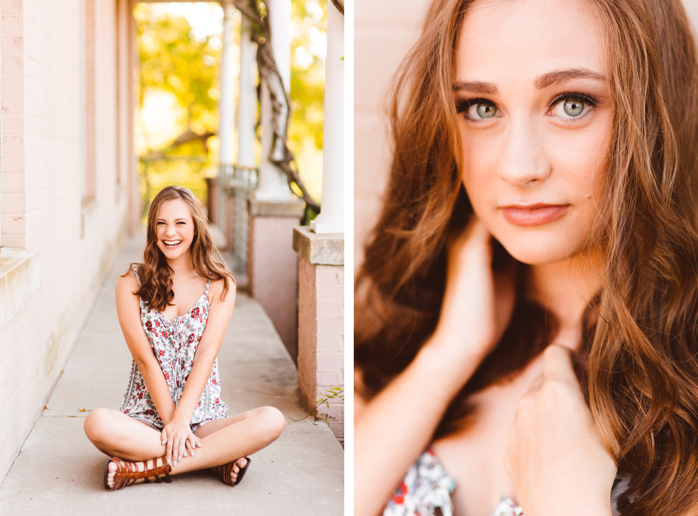 End of Summer Senior Session - Maryland Senior Photographer - Brooke Michelle Photography