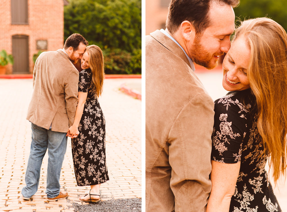 Brooke and Jarred's Downtown Annapolis Engagement Session - Maryland Wedding Photographer - Brooke Michelle Photography