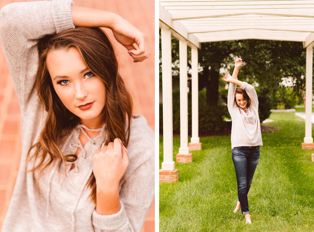 Boho and Woodsy Senior Session - Class of 2017 - Brooke Michelle Photography