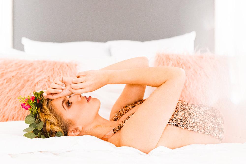Romantic Valentine's Day Boudoirathon - Boudoir Inspiration - Brooke Michelle Photography