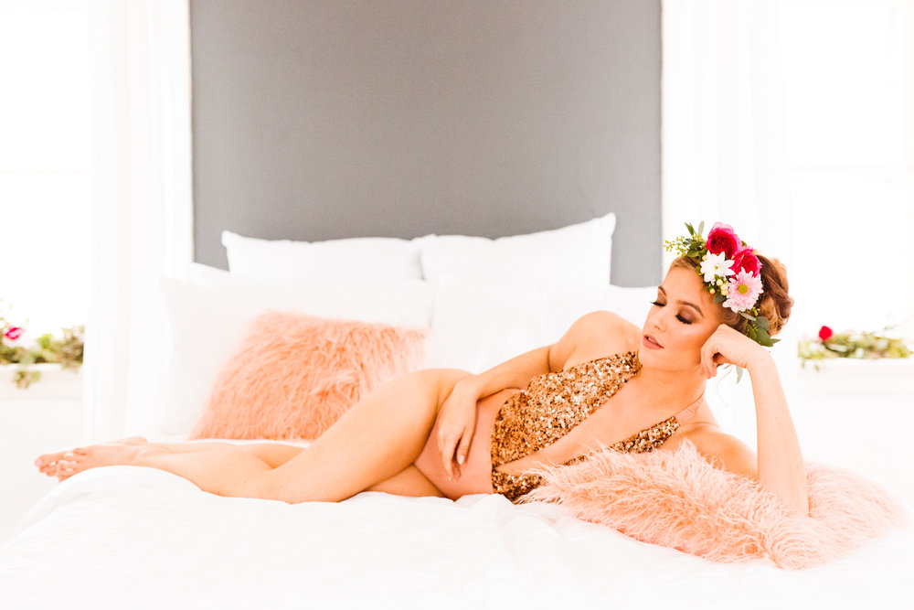 Romantic Valentine's Day Boudoirathon - Boudoir Inspiration - Brooke Michelle Photography