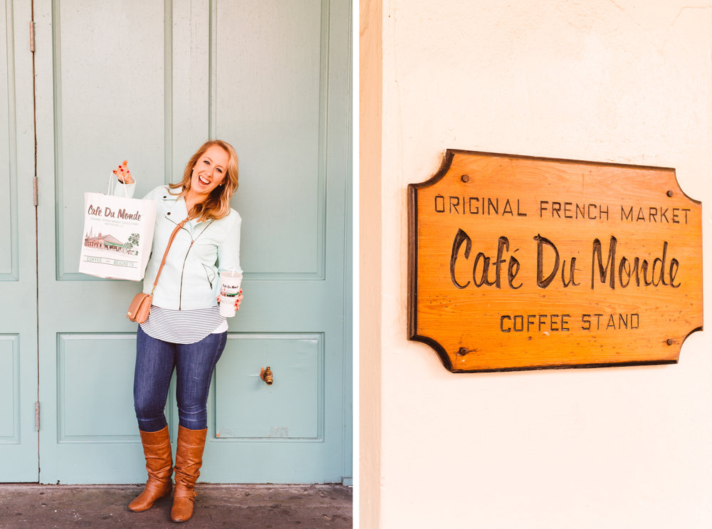 New Orleans Recap - Cafe Du Monde - Brooke Michelle Photography