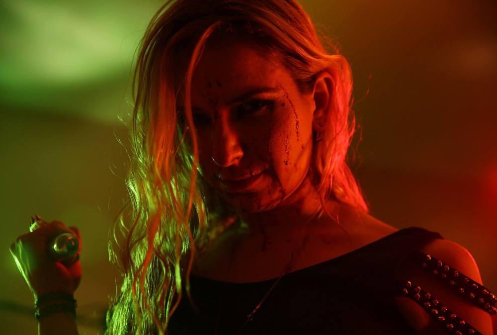 Brittany Sparkles as RAVEN in Vampire-Killing Prostitute