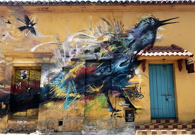I loved walking around Cartagena's Getsemani neighborhood and seeing the incredible street art. I wanted to jot down some of my favorite places to checkout in the Getsemani, below. . . . Where to eat: Demente, Maria Bonita Tacqueria Cantina Where to Dance: Cafe Havana Where to People Watch: Plaza de la Trinidad . . . Make sure to climb the wall at night in the Getsemani to get an incredible view of the Castillo San Felipe de Barajas . . . ... #colombia #lomejordecolombia #thebestofcolombia #cartagena #culturetrip