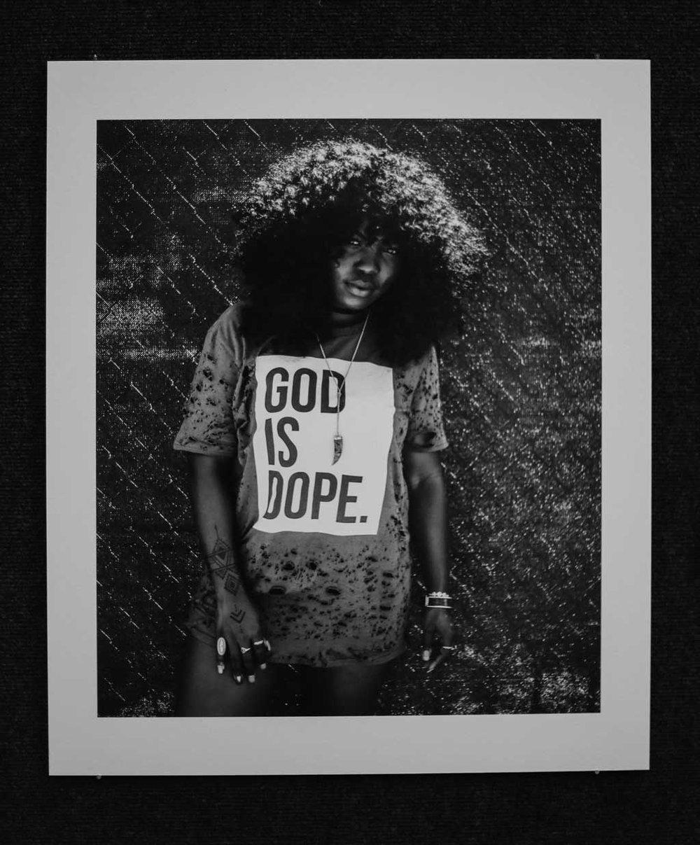 """Praise.""  Jessica Rycheal. Digital photograph, 2016."