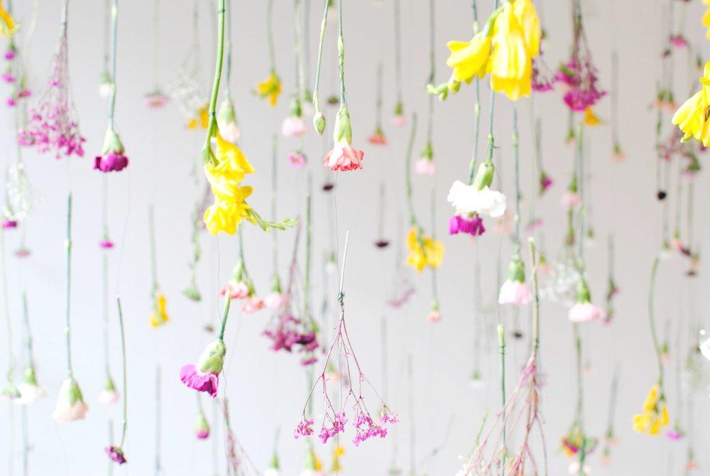 Hanging Garden Installation