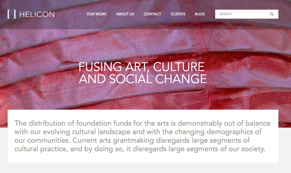 Fusing Art, Culture and Social Change published by The National Committee for Responsive Philanthropy (NCRP)