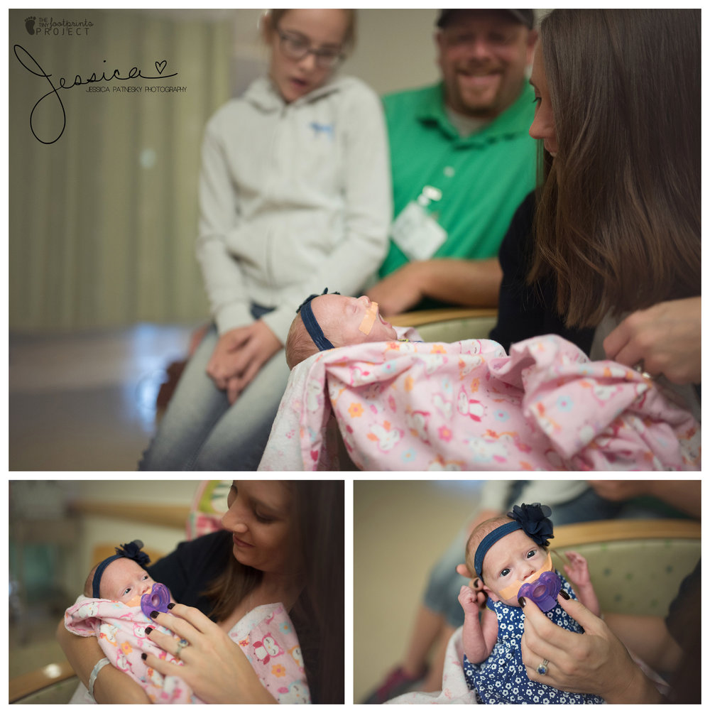 Newborn family photographer hospital | Jessica Patnesky Photography| Pittsburgh PA| Pennsylvania