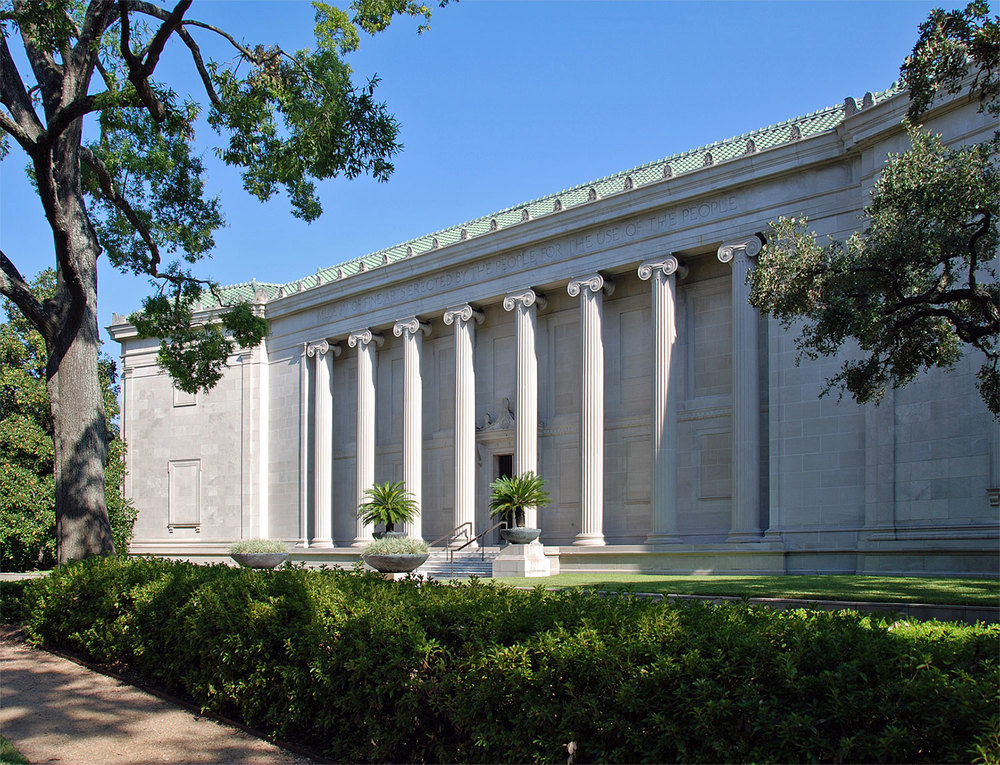 The original building of the Museum of Fine Arts, Houston is a highlight of out Main Street and Montrose Boulevard tour. /  photo by Jim Parsons