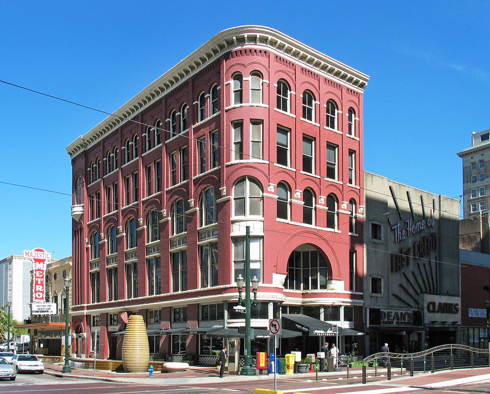 The Market Square area is home to a variety of restored commercial buildings including the 1893 Kiam Building. /  photo by Jim Parsons