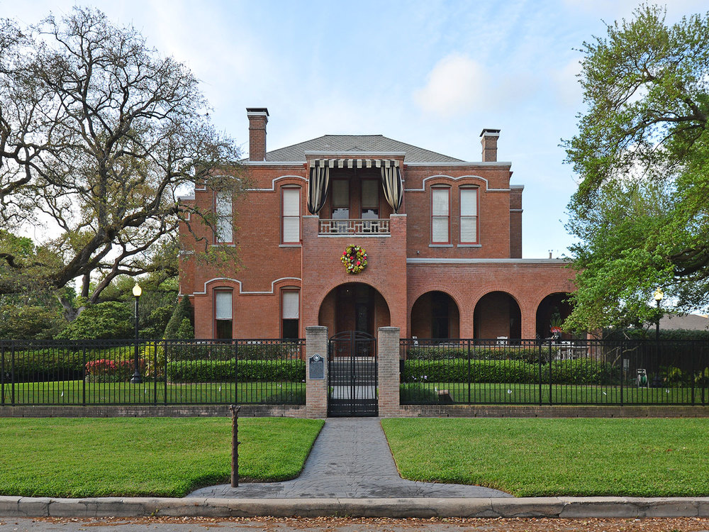Westmoreland was one of Houston's first southwestern suburbs when it opened in 1902. The Waldo Mansion has been a landmark in the neighborhood since 1905. / photo by Jim Parsons