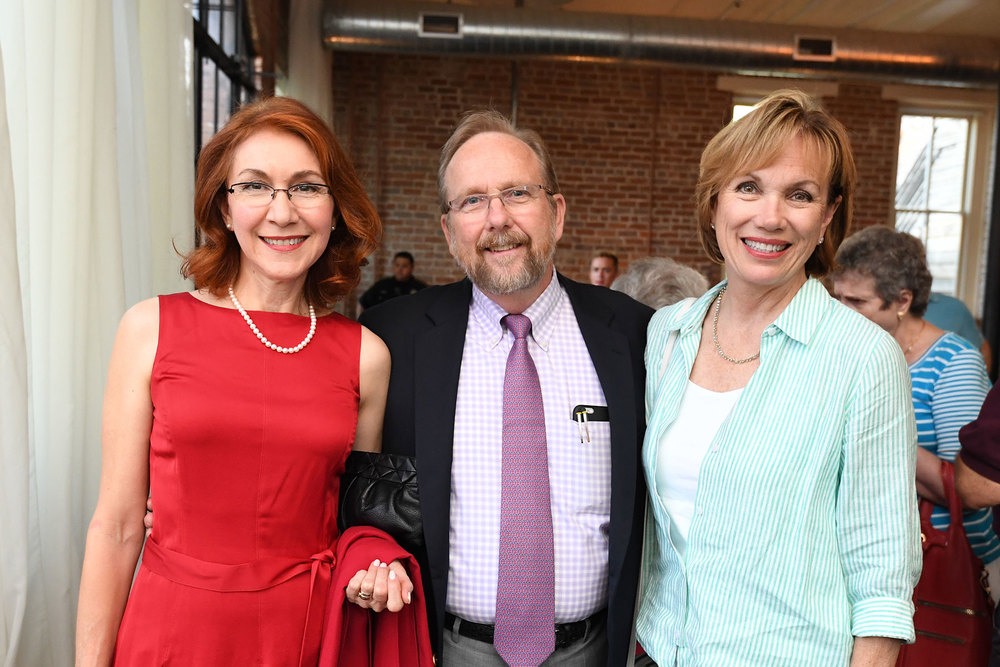 Edna Ramos, PH President John Cryer and PH President-elect Deborah Keyser /  photo by Daniel Ortiz