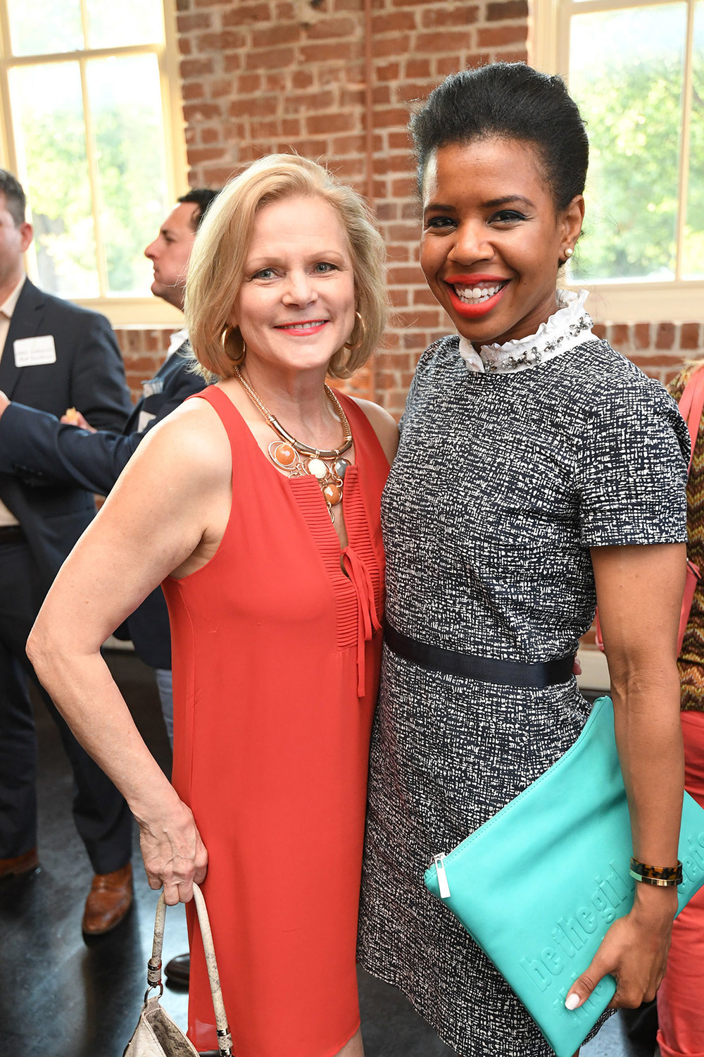Arlene Harper-Veith and PH Board member Claire Cormier Thielke /  photo by Daniel Ortiz