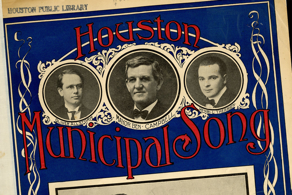 Listen to history   PH resurrects the long-forgotten Houston Municipal Song   Learn more