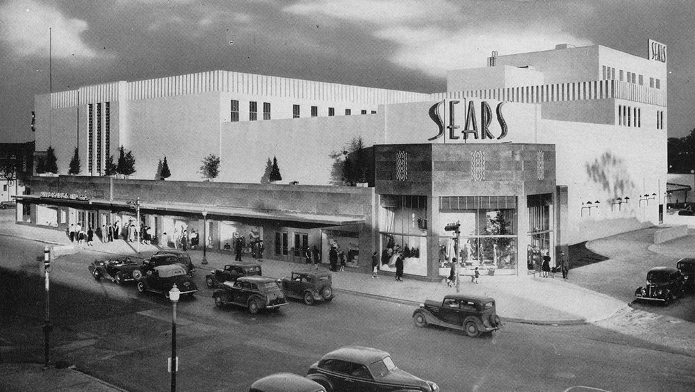 Sears building (1939, Nimmons, Carr & Wright) /  PH file