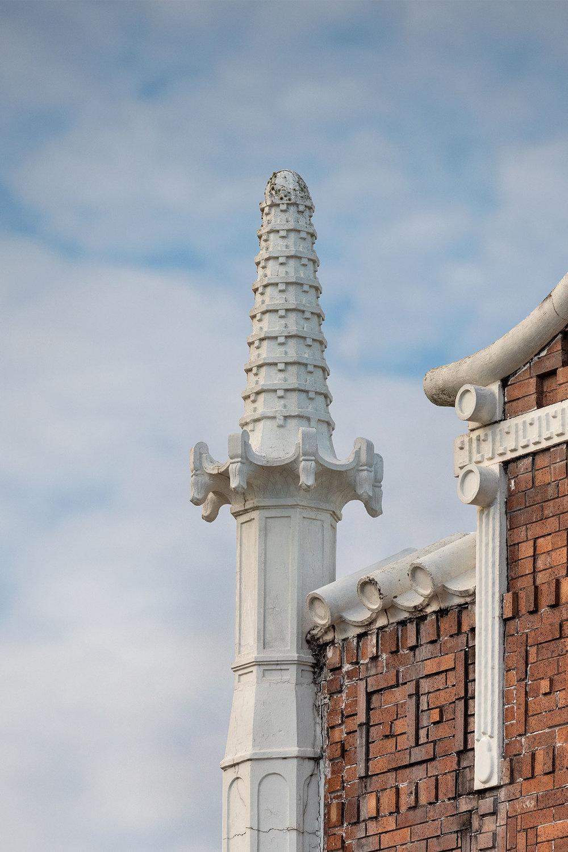 Detail, Cohen Building /  photo by Jim Parsons