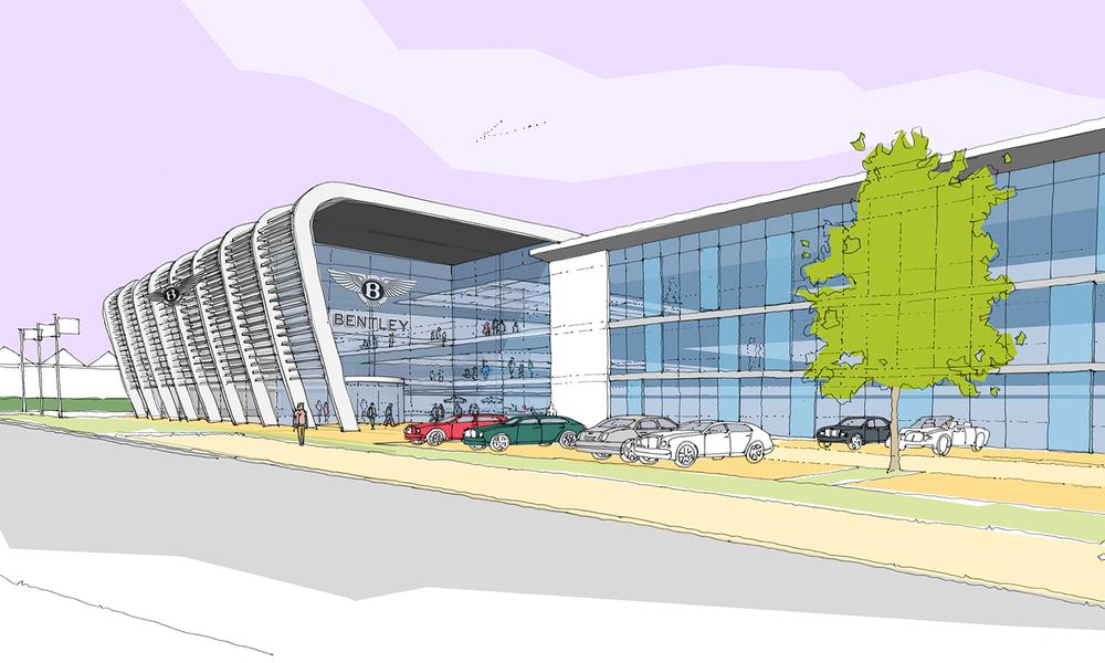 Bentley Motors HQ