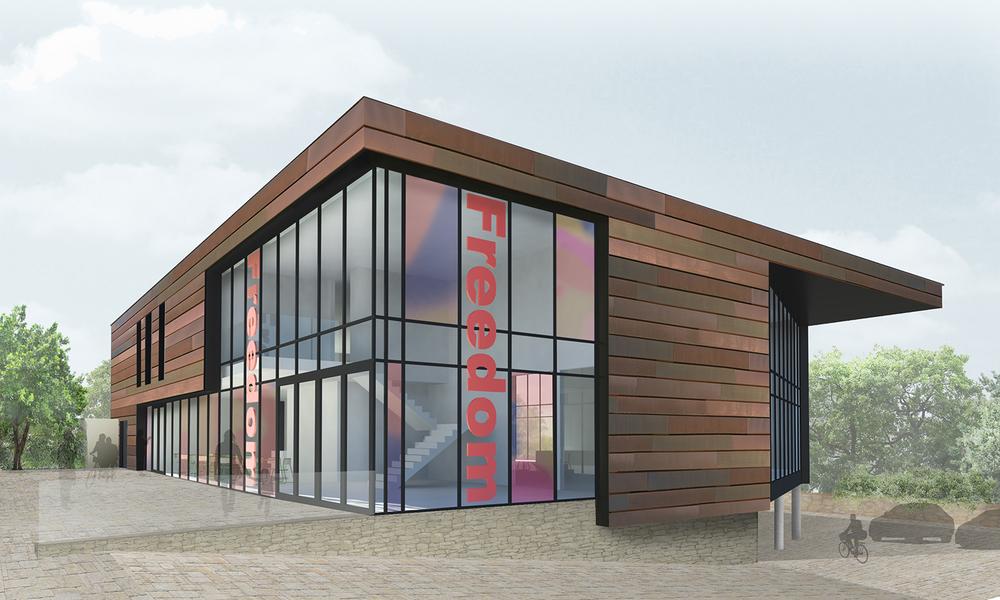 Freedom Bath+Bristol's new building