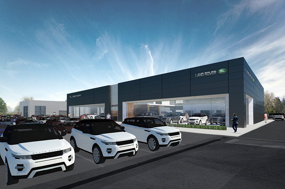 Work Soon To Begin On Site For New Jaguar Land Rover Dealership In Reading