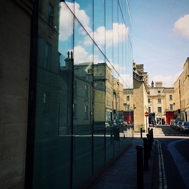The Thermae Bath Spa from Beau Street