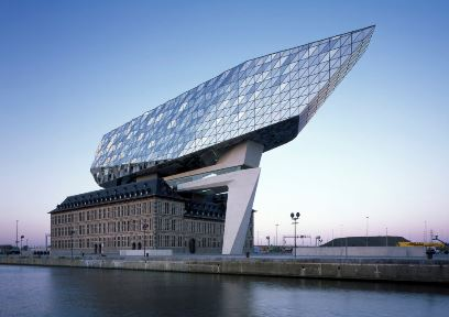 Image credit: Antwerp Port Authority HQ, Zaha Hadid Architects