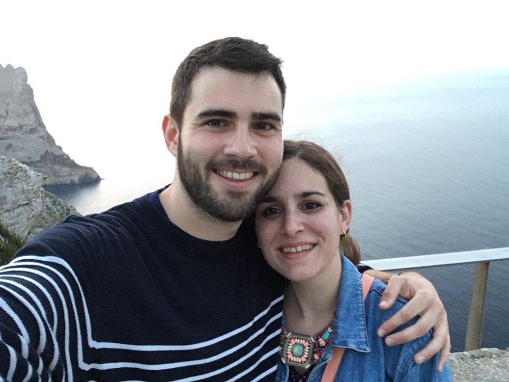 The best of wishes from us all to Ana and Koldo, who got engaged on their trip in Majorca last week.