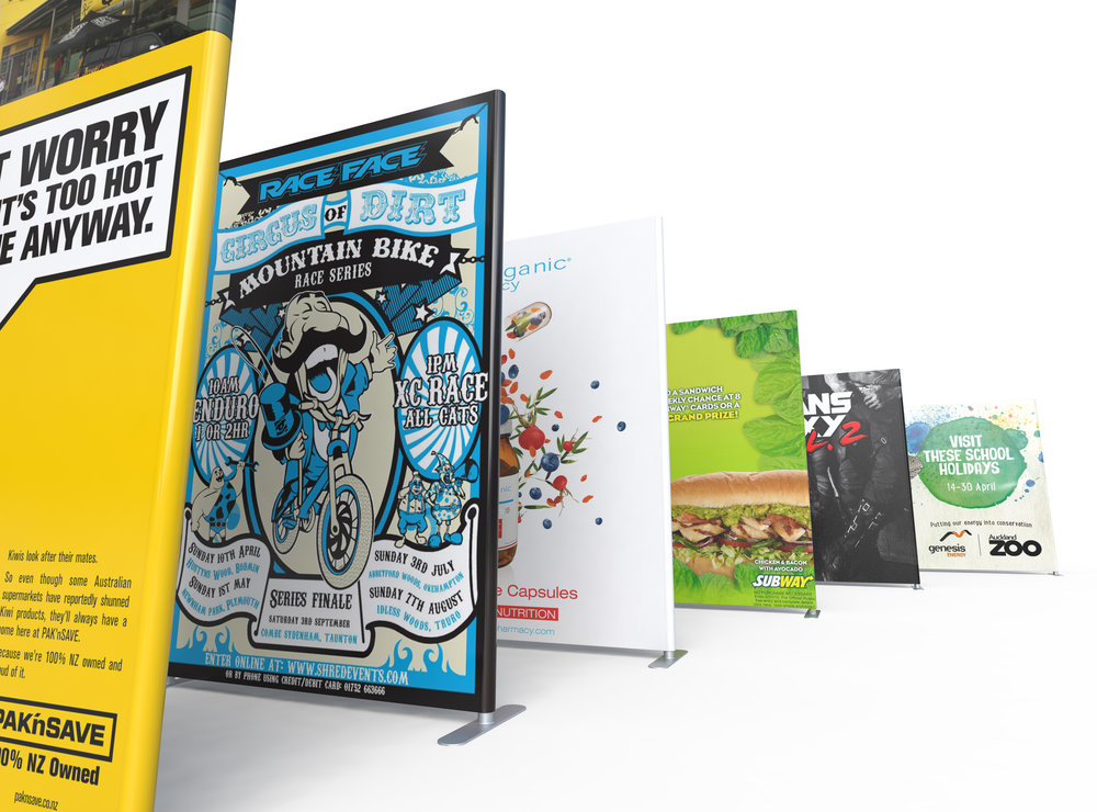 POWERFUL TRADE SHOW EXHIBITION DISPLAY WALLS!