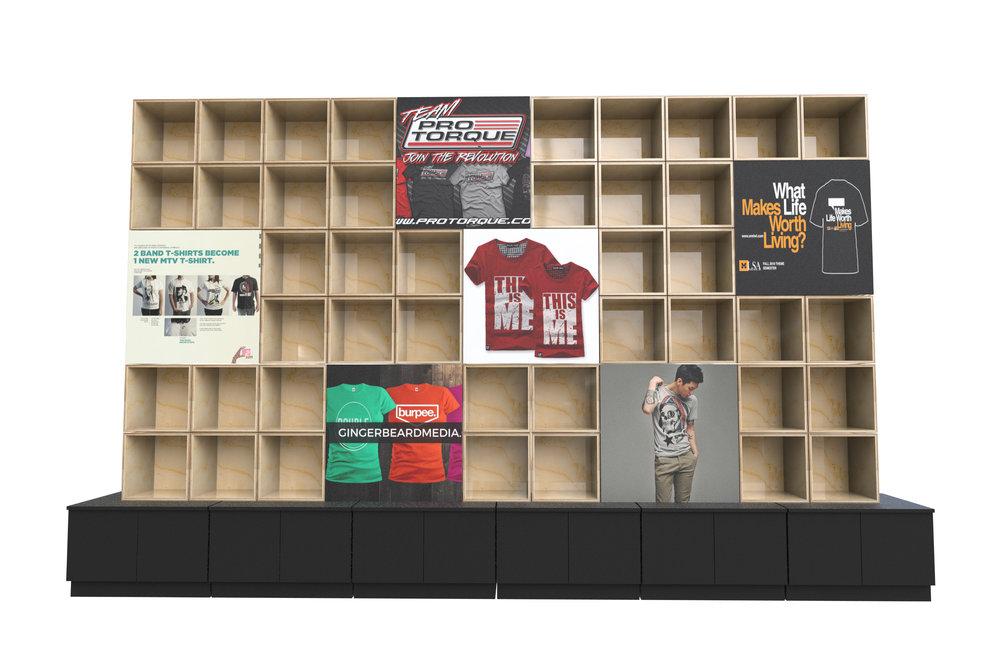 retail display wall