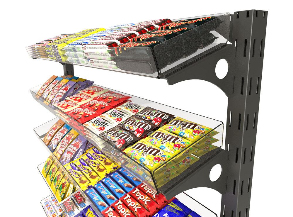 queue management system, confectionery