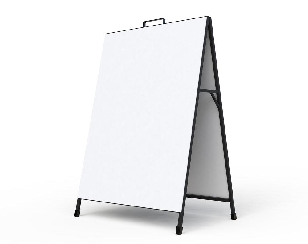 metro_advertising_board_a-board_display