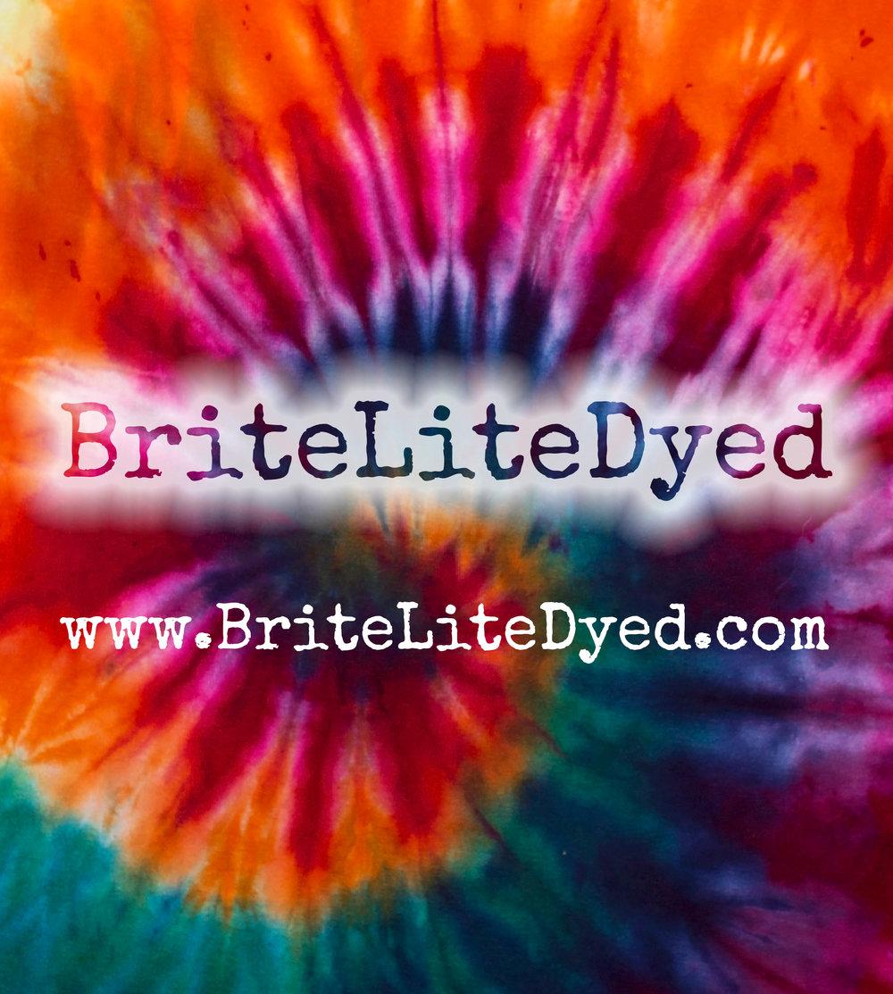 Tie Dye Clothing - BriteLiteDyed - Tye Dye Clothing - Texas Small Business